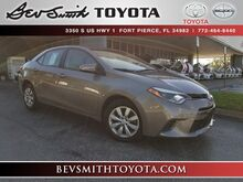 2016_Toyota_Corolla_LE_ Fort Pierce FL