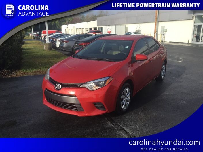 2016 Toyota Corolla LE High Point NC