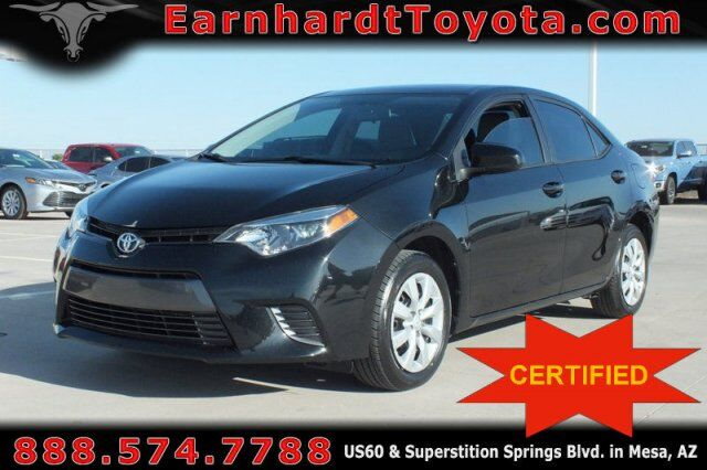 Used Cars Mesa Az >> Certified Used Cars Mesa Az Earnhardt Toyota