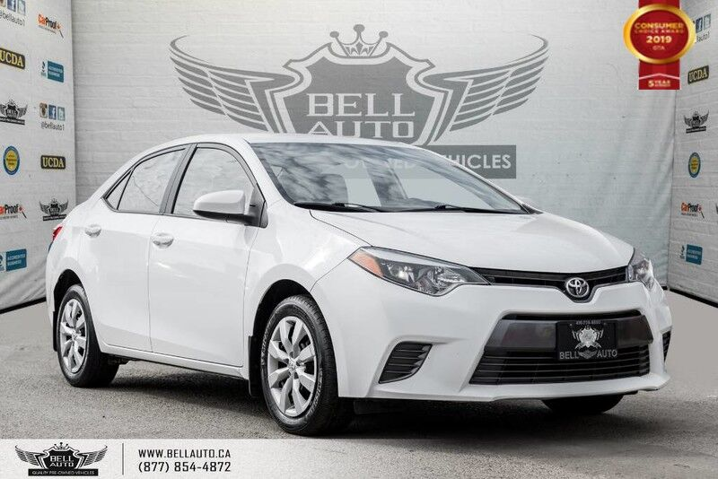 2016 Toyota Corolla LE, NO ACCIDENT, BACK-UP CAM, BLUETOOTH, HEATED SEATS
