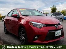 2016 Toyota Corolla LE Plus South Burlington VT