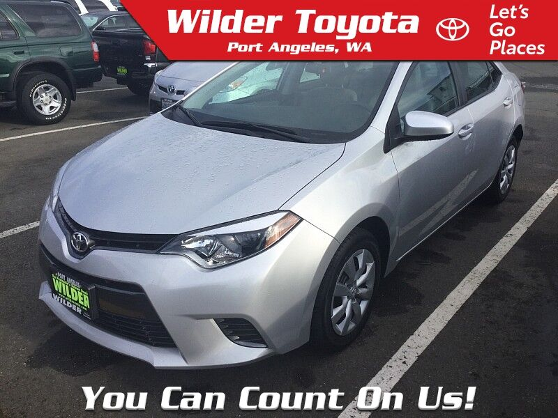 2016 Toyota Corolla LE Port Angeles WA