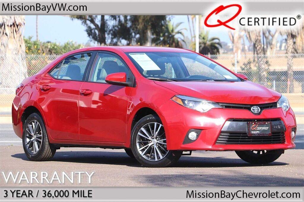 2016 Toyota Corolla LE San Diego CA