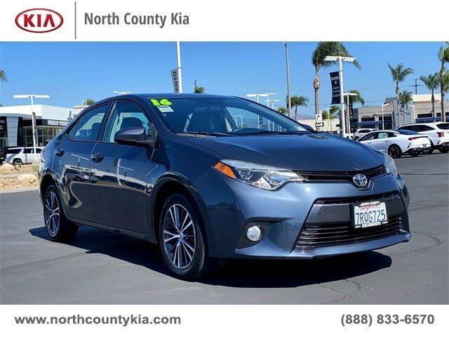2016 Toyota Corolla LE San Diego County CA