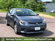 2016 Toyota Corolla LE South Burlington VT