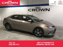 2016_Toyota_Corolla_LE Upgrade Pkg / One Owner / Clean Carproof / Local / Immaculate Condition_ Winnipeg MB