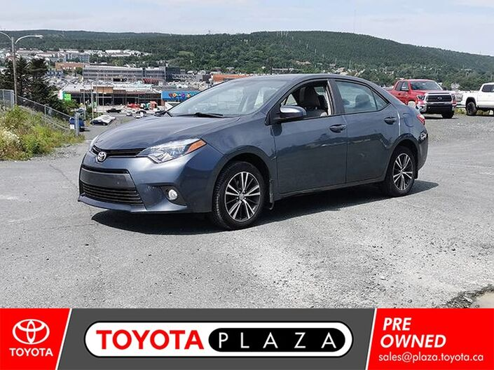 2016 Toyota Corolla LE Upgrade St. Johns NL