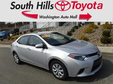 2016_Toyota_Corolla_LE_ Washington PA