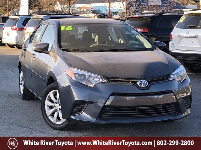 2016 Toyota Corolla LE White River Junction VT