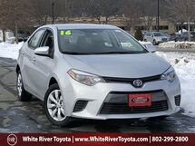2016 Toyota Corolla LE White River Junction VT