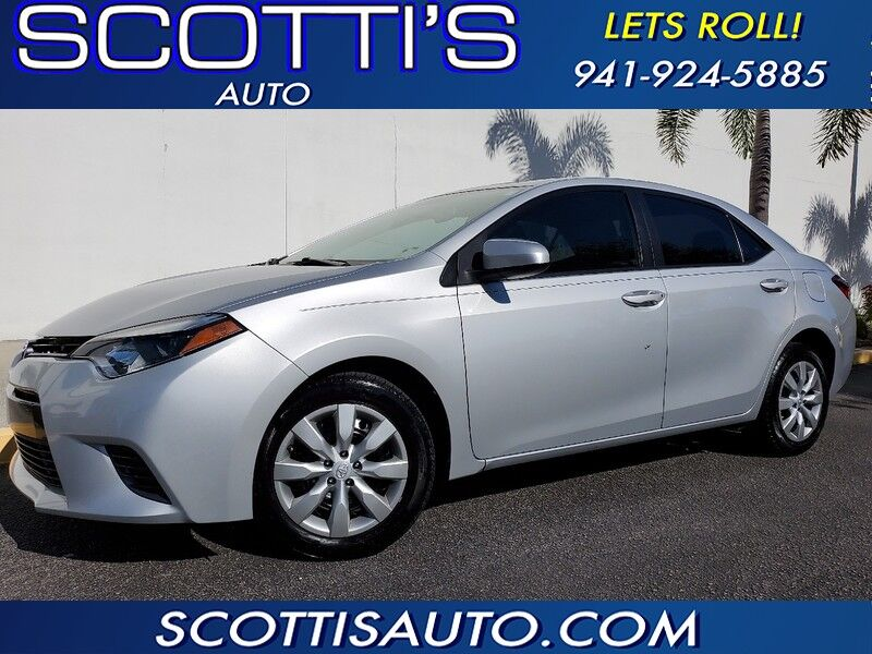 2016 Toyota Corolla LE~CLEAN CARFAX~ GREAT PRICE~ AUTOMATIC~VERY WELL SERVICED~ ONLINE FINANCE AVAILABLE! EASY BUYING PROCESS!!!~ EXCELLENT CONDITION~ Sarasota FL
