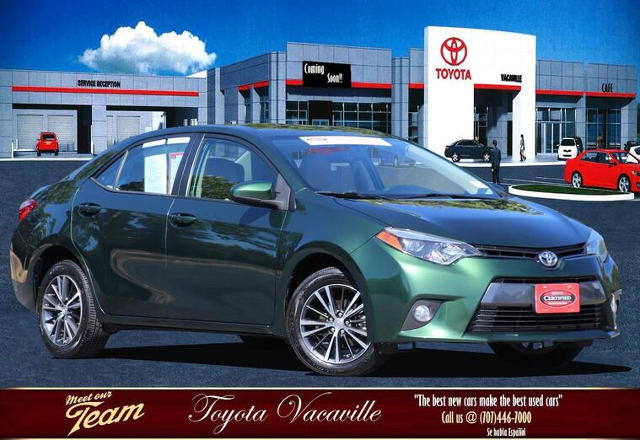 2016 Toyota Corolla Le Plus Sedan Vacaville CA
