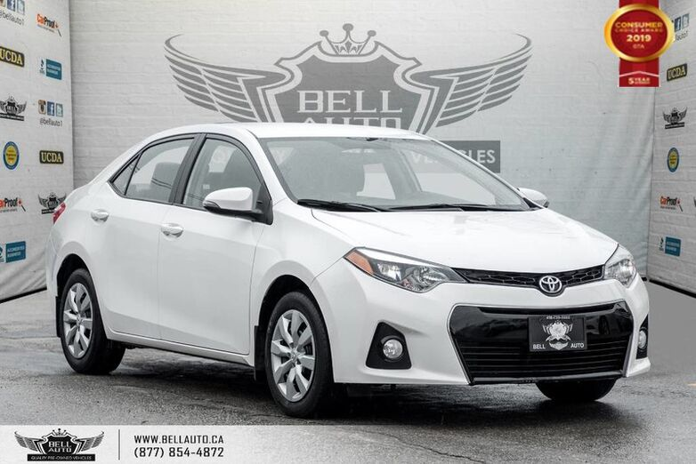 2016 Toyota Corolla S, BACK-UP CAM, LEATHER, HEATED SEATS, BLUETOOTH Toronto ON