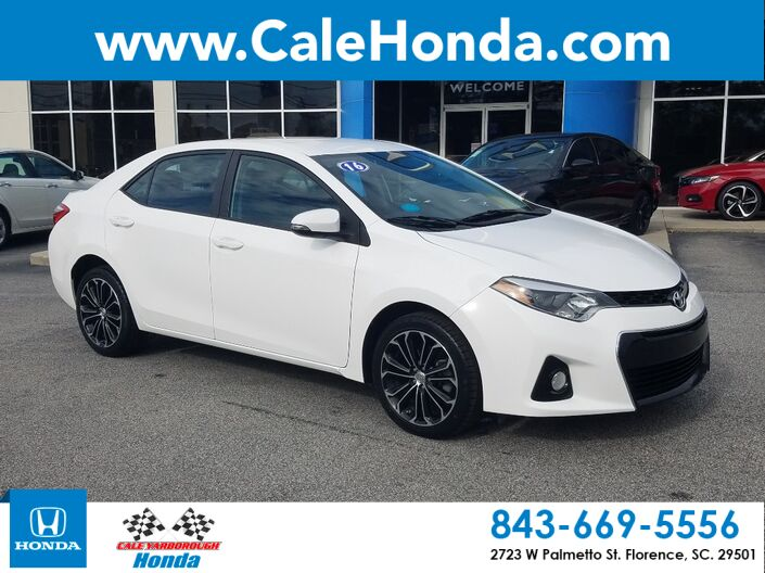 2016 Toyota Corolla S Florence SC