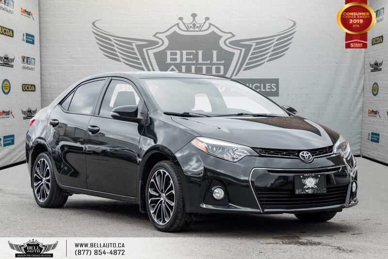 2016 Toyota Corolla S, NO ACCIDENT, NAVI, BACK-UP CAM, SUNROOF, PUSH START Toronto ON