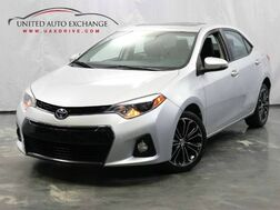 2016_Toyota_Corolla_S Plus / 1.8L 4-Cyl Engine / MANUAL TRANSMISSION / FWD / Sunroof / Bluetooth / Navigation / Rear View Camera / Push Start / Leather Seats_ Addison IL