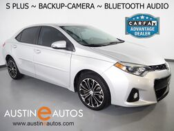 2016_Toyota_Corolla S Plus_*AUTOMATIC, BACKUP-CAMERA, COLOR TOUCH SCREEN, REMOTE KEYLESS ENTRY, AUTO CLIMATE CONTROL, ALLOY WHEELS, BLUETOOTH PHONE & AUDIO_ Round Rock TX