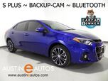 2016 Toyota Corolla S Plus *AUTOMATIC, BACKUP-CAMERA, TOUCH SCREEN, ALLOY WHEELS, SPOILER, BLUETOOTH PHONE & AUDIO