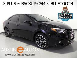 2016_Toyota_Corolla S Plus_*AUTOMATIC, BACKUP-CAMERA, TOUCH SCREEN, ALLOY WHEELS, SPOILER, BLUETOOTH PHONE & AUDIO_ Round Rock TX