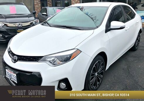 2016 Toyota Corolla S Plus Bishop CA