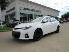 Toyota Corolla S Plus CVT CLOTH/LEATHER SEATS, BACKUP CAMERA, SUNROOF, KEYLESS START, CLIMATE CONTROL 2016