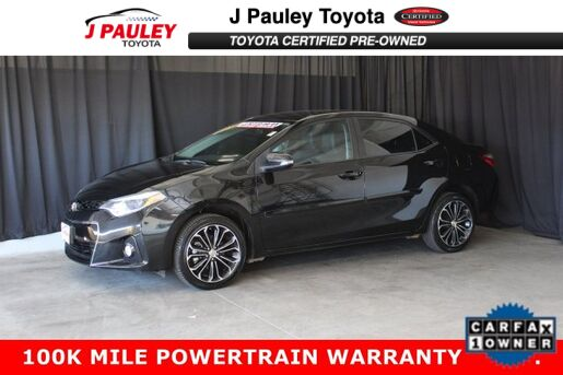 2016_Toyota_Corolla_S Plus_ Fort Smith AR