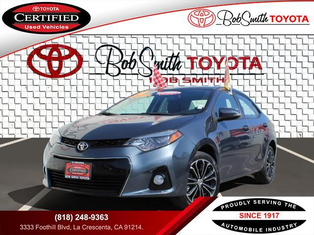 Certified Used Cars >> Certified Used Cars La Crescenta Ca Bob Smith Toyota