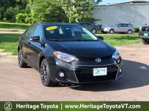 2016 Toyota Corolla S Plus South Burlington VT