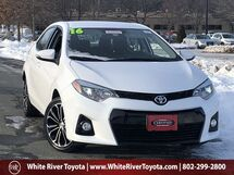 2016 Toyota Corolla S Plus White River Junction VT
