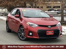 2016 Toyota Corolla S Premium White River Junction VT
