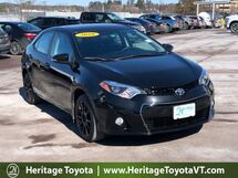 2016 Toyota Corolla S Special Edition South Burlington VT