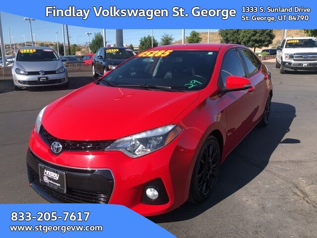 2016 Toyota Corolla S Special Edition St. George UT