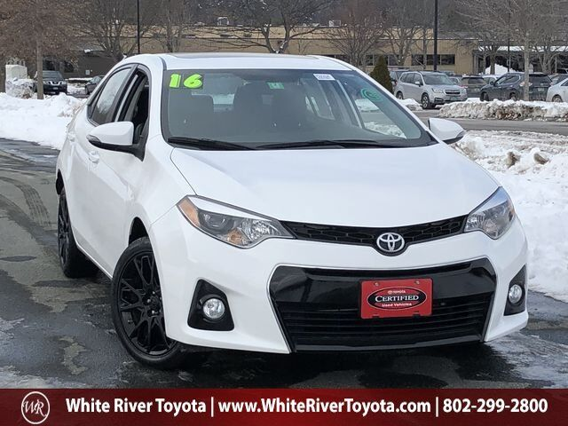 2016 Toyota Corolla S Special Edition White River Junction VT