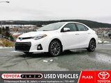 2016 Toyota Corolla S UPGRADE St. Johns NL