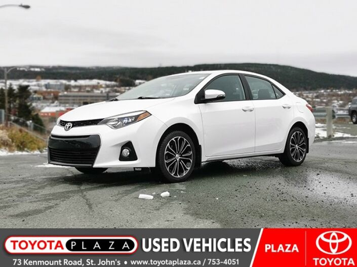 2016 Toyota Corolla S UPGRADE St. Johns NL