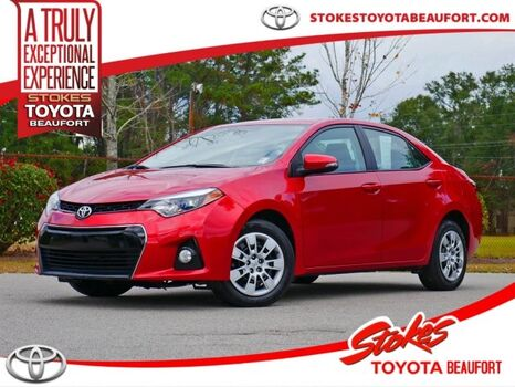 2016_Toyota_Corolla_S_ Aiken SC