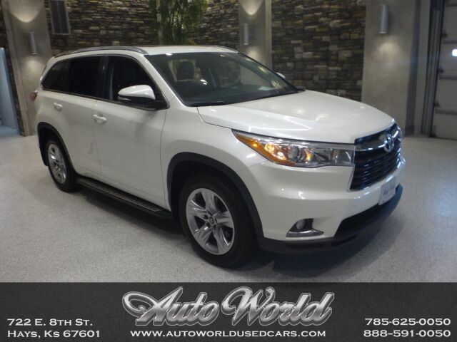 2016 Toyota HIGHLANDER LIMITED AWD  Hays KS