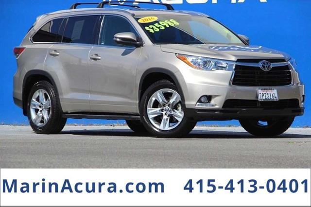 2016_Toyota_Highlander_AWD 4dr V6 Limited_ Bay Area CA