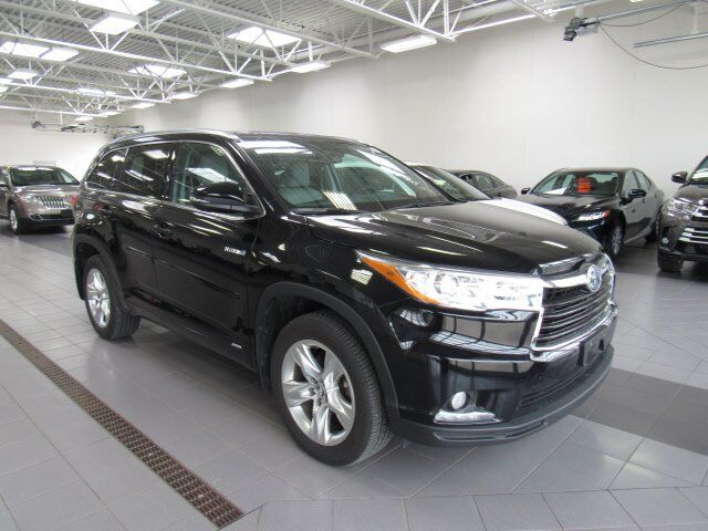 2016 Toyota Highlander Hybrid Limited Platinum Green Bay WI