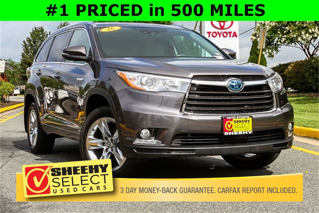 2016 Toyota Highlander Hybrid Limited Platinum NAV LEATHER PANORAMIC ROOF CAMERA Stafford VA