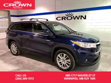 2016_Toyota_Highlander Hybrid_XLE AWD / Local / Accident Free / One Owner / Highway Driven / Great Condition / Unbeatable Value_ Winnipeg MB