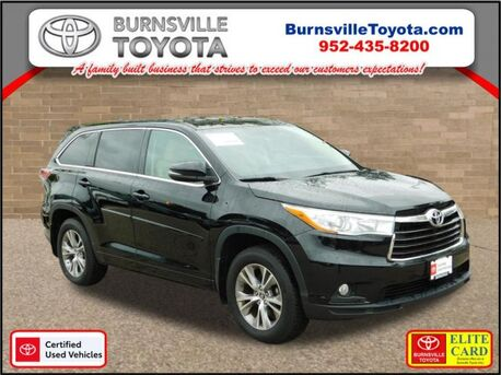 2016_Toyota_Highlander_LE_ Burnsville MN