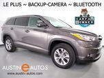 2016 Toyota Highlander LE Plus *BACKUP-CAMERA, TOUCH SCREEN, STEERING WHEEL CONTROLS, 3RD ROW, ALLOY WHEELS, BLUETOOTH PHONE & AUDIO