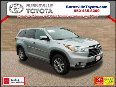 2016_Toyota_Highlander_LE Plus_ Burnsville MN
