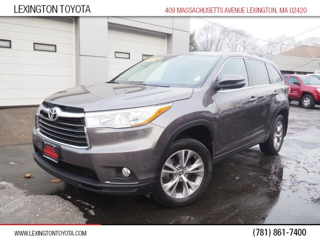 2016 Toyota Highlander LE Plus Lexington MA