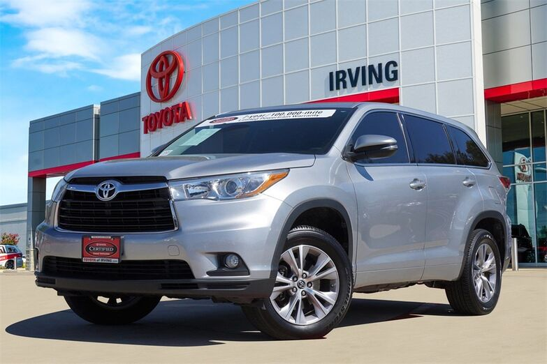2016 Toyota Highlander LE Plus V6 Irving TX