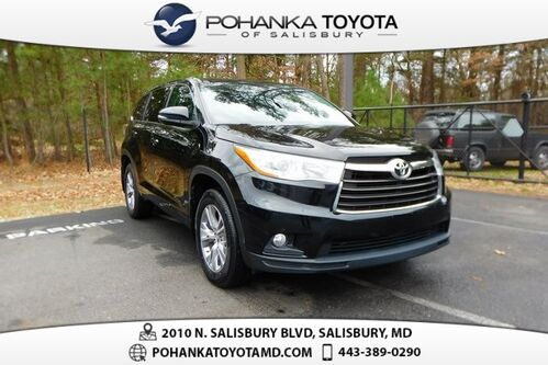 2016_Toyota_Highlander_LE Plus V6_ Salisbury MD