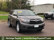 2016 Toyota Highlander LE South Burlington VT