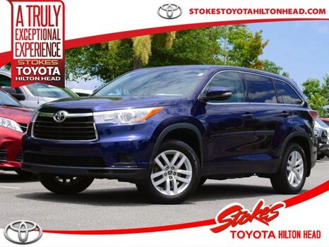 2016_Toyota_Highlander_LE_ Aiken SC