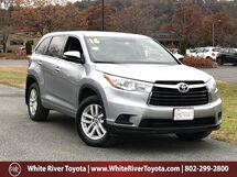 2016 Toyota Highlander LE White River Junction VT